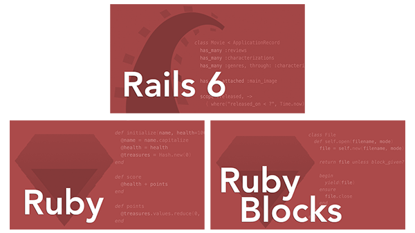 Ruby and Rails Pro Bundle: All 3 Ruby and Rails Courses